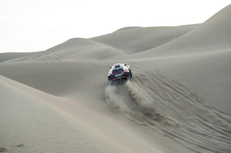 #304 X-Raid Mini JCW Team: Стефан Петрансель, Давід Кастера
