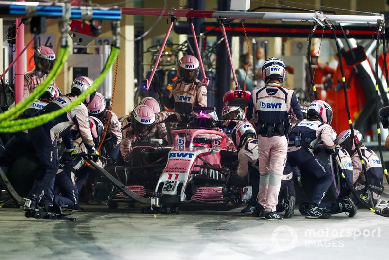 Естебан Окон, Серхіо Перес, Racing Point Force India VJM11