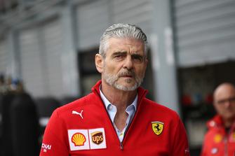 Maurizio Arrivabene, Scuderia Ferrari
