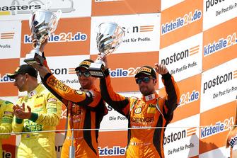 Podium: third place #63 ORANGE1 by GRT Grasser Lamborghini Huracán GT3: Andrea Caldarelli, Mirko Bortolotti