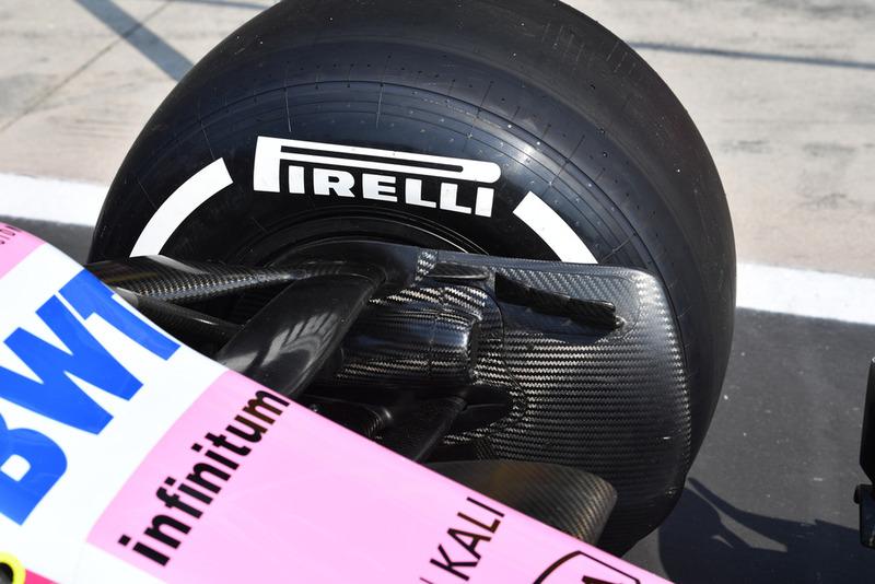 Conducto de freno del Racing Point Force India VJM11