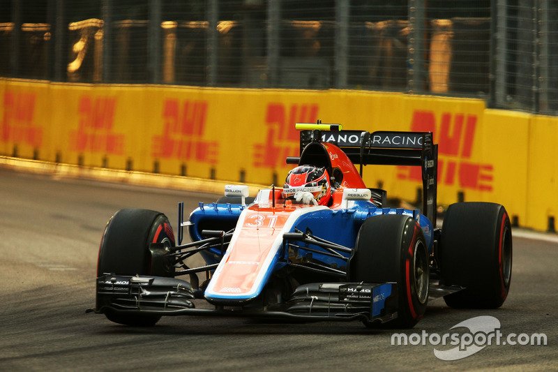21: Esteban Ocon, Manor Racing MRT05