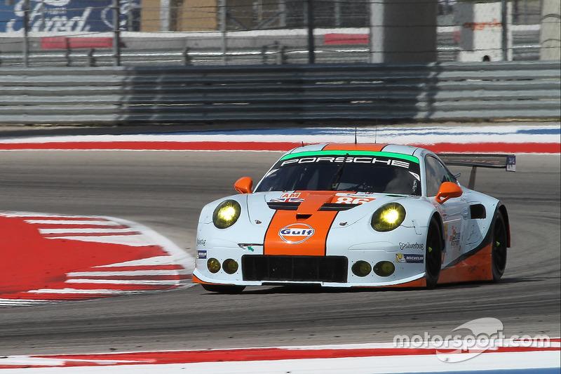 4. GTE-Am: #86 Gulf Racing, Porsche 911 RSR: Michael Wainwright, Adam Carroll, Ben Barker