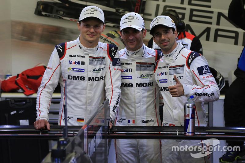 Володарі поул-позішн #2 Porsche Team Porsche 919 Hybrid: Ромен Дюма, Ніл Яні, Марк Ліб