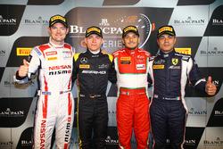 Polesitter #84 HTP Motorsport, Mercedes-AMG GT3: Maximilian Buhk with #23 Nissan GT Academy Team RJN