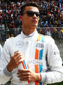 Pascal Wehrlein, Manor Racing, op de grid
