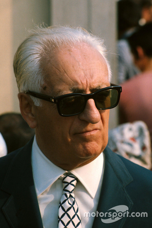 Enzo Ferrari nel 1971