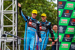 Podium: third place Scott McLaughlin, David Wall, Garry Rogers Motorsport Volvo