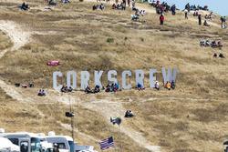 Hinweis auf den Corkscrew in Laguna Seca