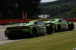 #16 GRT Grasser Racing Team, Lamborghini Huracan GT3: Rolf Ineichen, Jeroen Bleekemolen, Mirko Borto