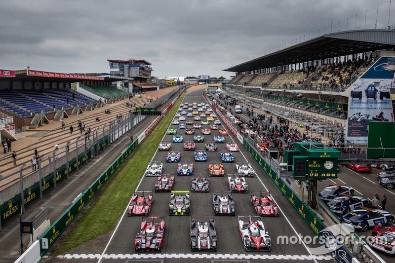 #2: Das offizielle Gruppenfoto in Le Mans