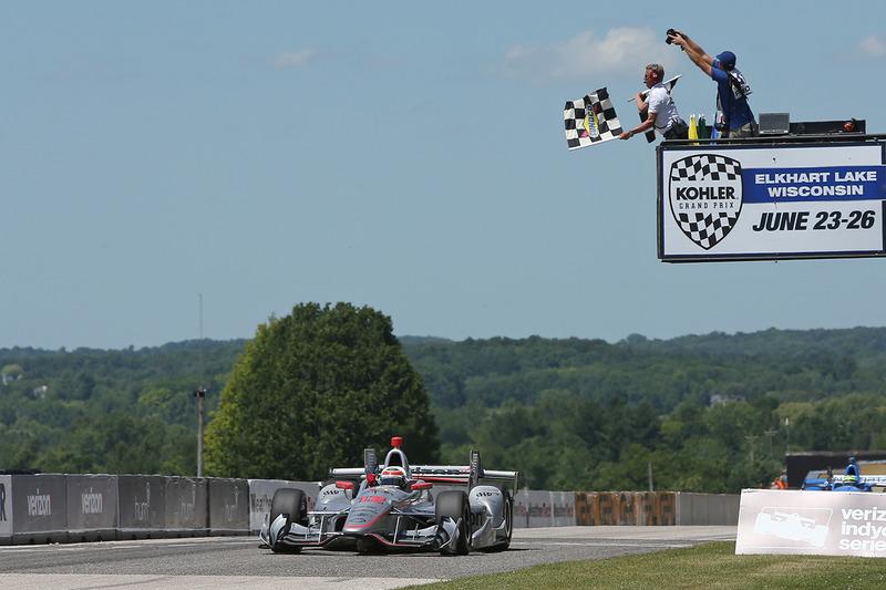Damalı bayrak: Will Power, Team Penske Chevrolet