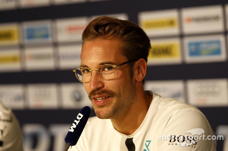 Conferenza stampa: Maximilian Götz, Mercedes-AMG Team HWA, Mercedes-AMG C63 DTM