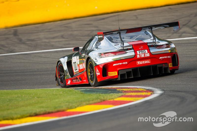 20. #00 AMG-Team Black Falcon, Mercedes AMG-GT3