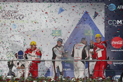 Podium: #6 Toyota Racing, Toyota TS050 Hybrid: Stéphane Sarrazin, Mike Conway, Kamui Kobayashi