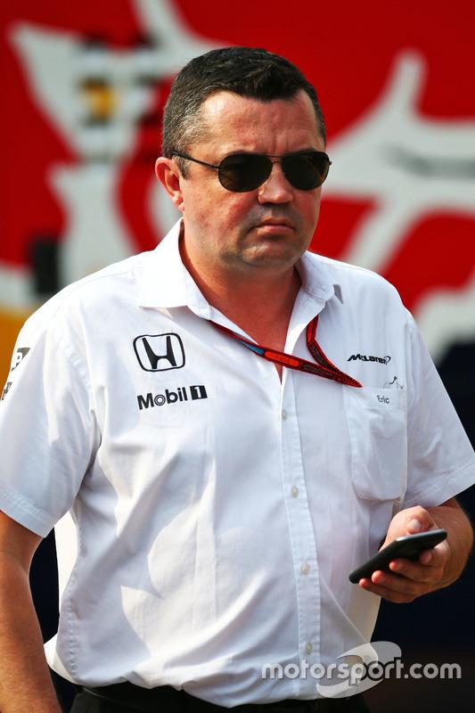 Eric Boullier, Direttore corse McLaren