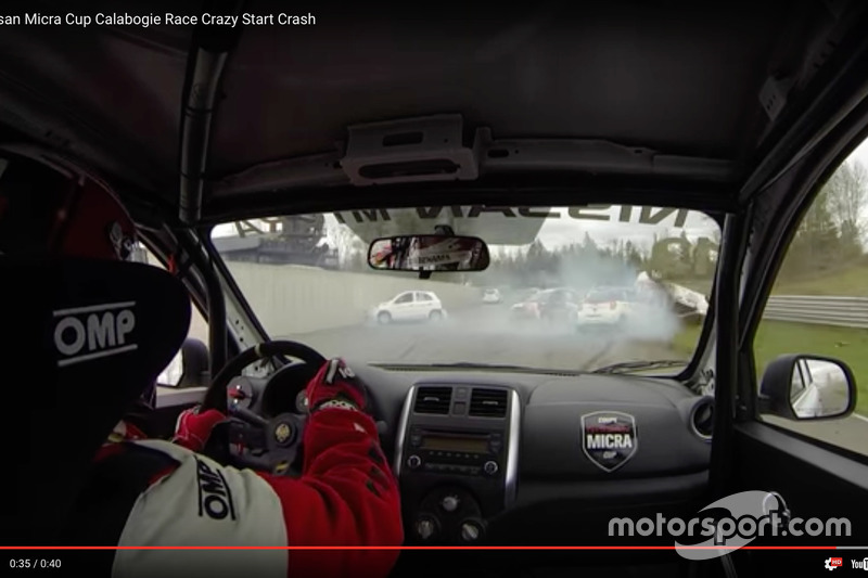 Screenshot: Nissan Micra Cup