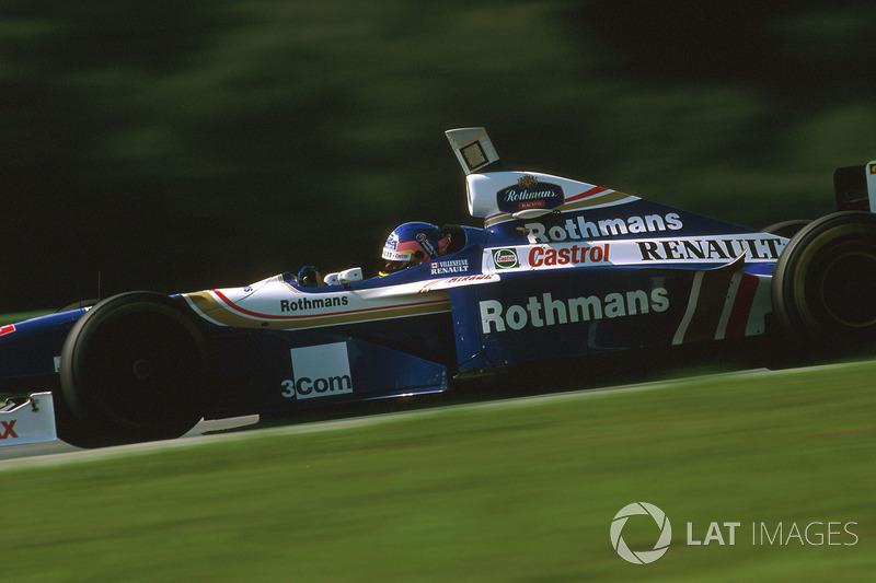 26. Jacques Villeneuve: 101 grandes premios (el 61,96% de los disputados)
