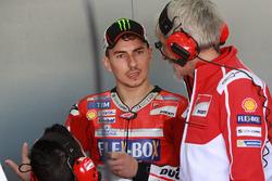 Jorge Lorenzo, Ducati Team, Gigi Dall'Igna, Ducati Team General Manager