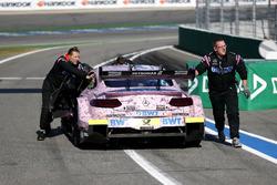 Edoardo Mortara, Mercedes-AMG Team HWA, Mercedes-AMG C63 DTM stoppt with a problem on the propeller shaft