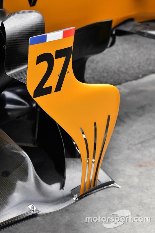 Renault RS17: Luftleitblech