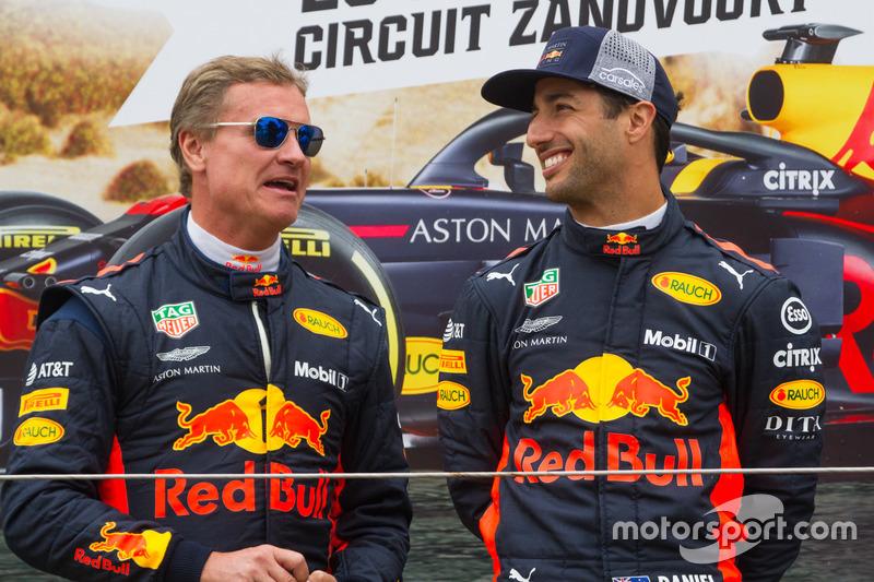 David Coulthard ve Daniel Ricciardo