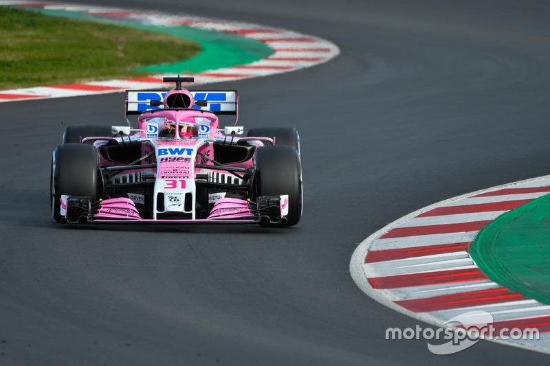 9 місце — Естебан Окон, Force India