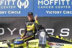 Winnaar Sébastien Bourdais, Dale Coyne Racing with Vasser-Sullivan Honda