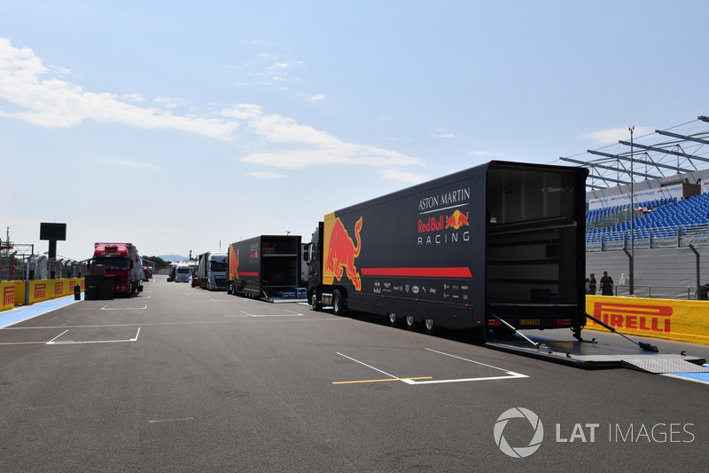 Camion Red Bull Racing
