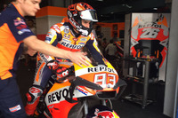 Marc Marquez, Repsol Honda Team with new fairing