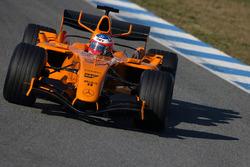 Gary Paffett, McLaren Mercedes MP4/20