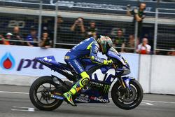 Valentino Rossi, Yamaha Factory Racing fait un essai de départ