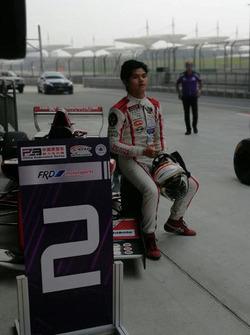 Runner-up Race 1, Perdana Minang, Asia Racing Team