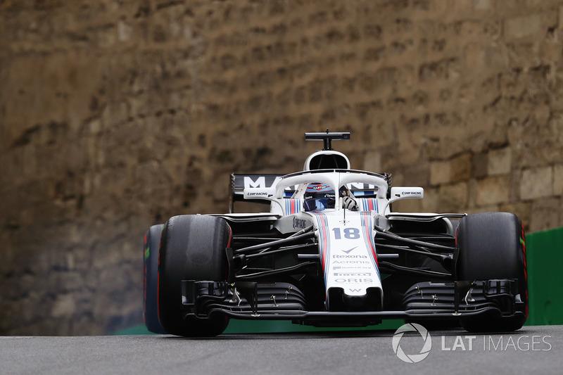 10: Lance Stroll, Williams FW41 Mercedes, 1'43.585