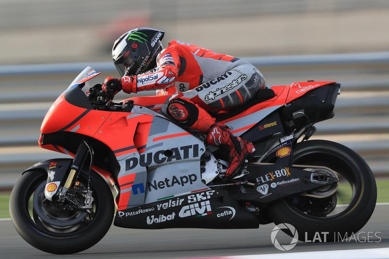 "<img src=""http://cdn-1.motorsport.com/static/custom/car-thumbs/MOTOGP_2018/NUMBERS/lorenzo.png"" width=""50"" /> Jorge Lorenzo (Ducati Team)"
