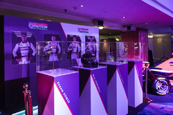 Images of the four McLaren Autosport BRDC Award nominees on display
