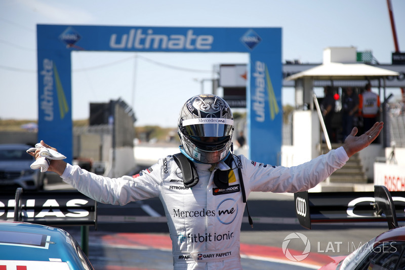 Pole position for Gary Paffett, Mercedes-AMG Team HWA