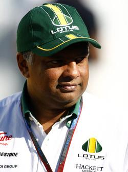 Tony Fernandes, director de Lotus Racing