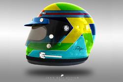 Felipe Massa 1970's helmet concept