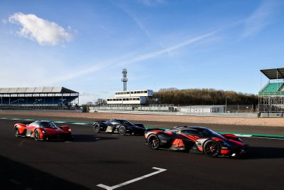 Red Bull Racing Aston Martin Valkyrie ride