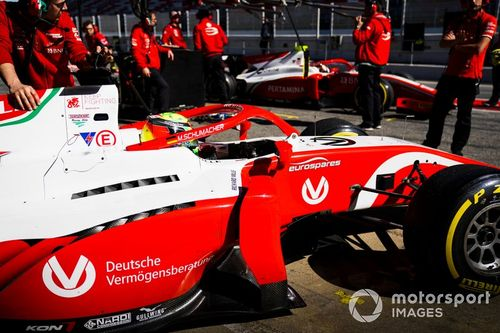 Formel-2-Test in Barcelona