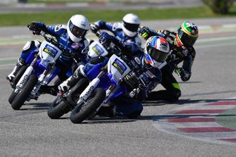Nicolo Bulega bersama para pembalap Yamaha VR46 Master Camp edisi keenam