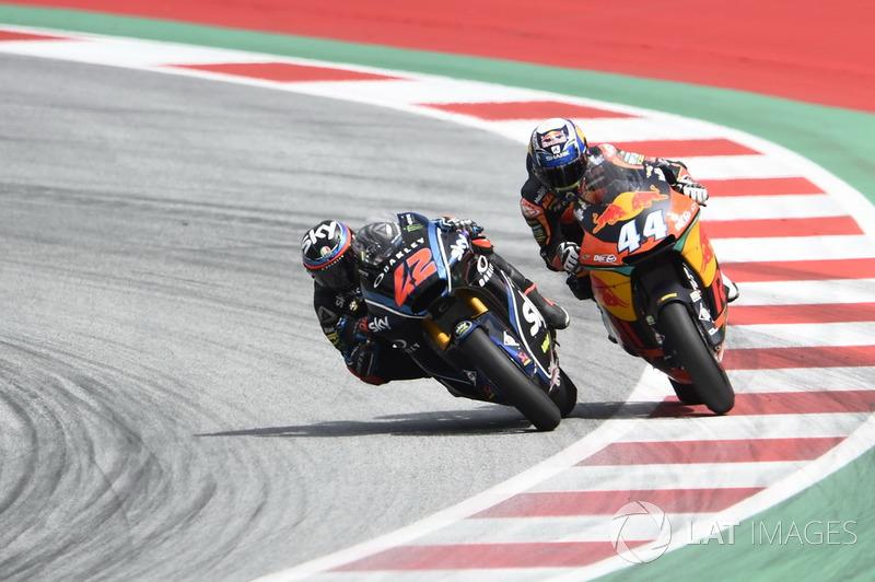 Miguel Oliveira, Red Bull KTM Ajo Francesco Bagnaia, Sky Racing Team VR46