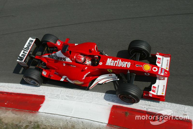 69勝目:2003年イタリアGP