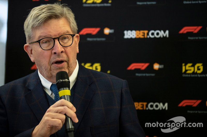 188Bet presentation with Ross Brawn, Managing Director of Motorsports, FOM