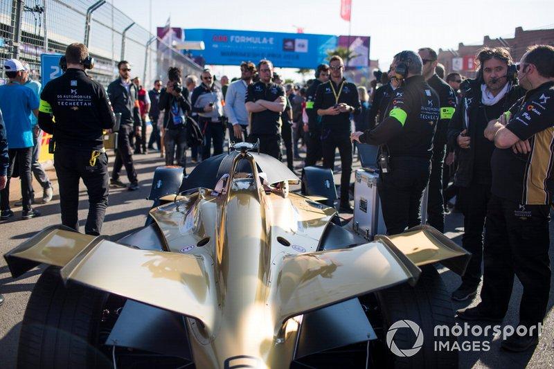 El coche de Jean-Eric Vergne, DS TECHEETAH, DS E-Tense FE19