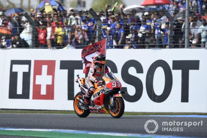 #15 GP de Tailandia - Victoria: Marc Márquez