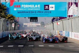 Старт гонки Формули Е