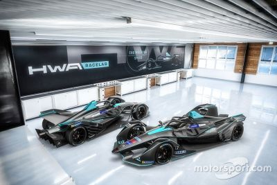 HWA livery unveil
