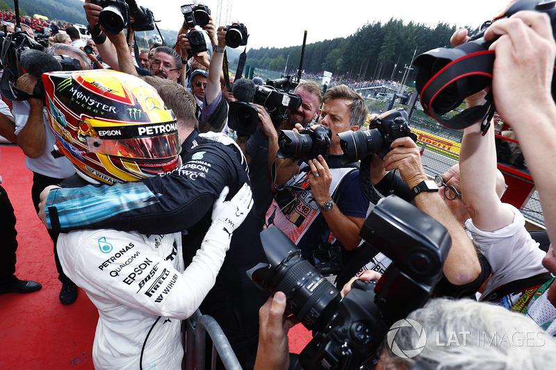 Gandor de la carrera Lewis Hamilton, Mercedes AMG F1